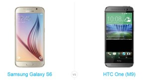 Perbandingan ponsel: Samsung Galaxy S6 lawan HTC One M9