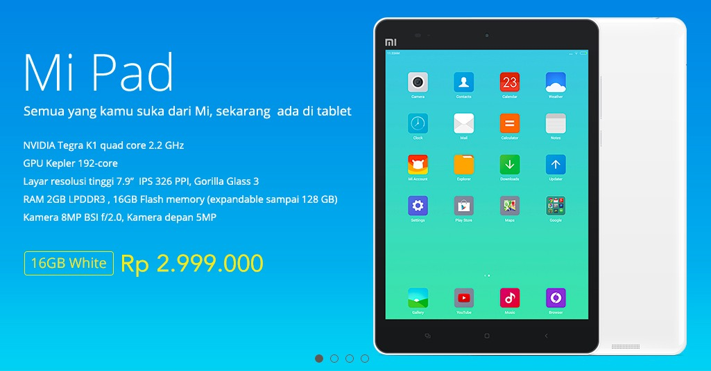 Xiaomi Mi Pad Indonesia