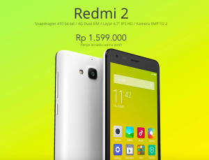 Xiaomi Redmi 2 and Mi Pad akan Hadir di Indonesia Minggu ini!