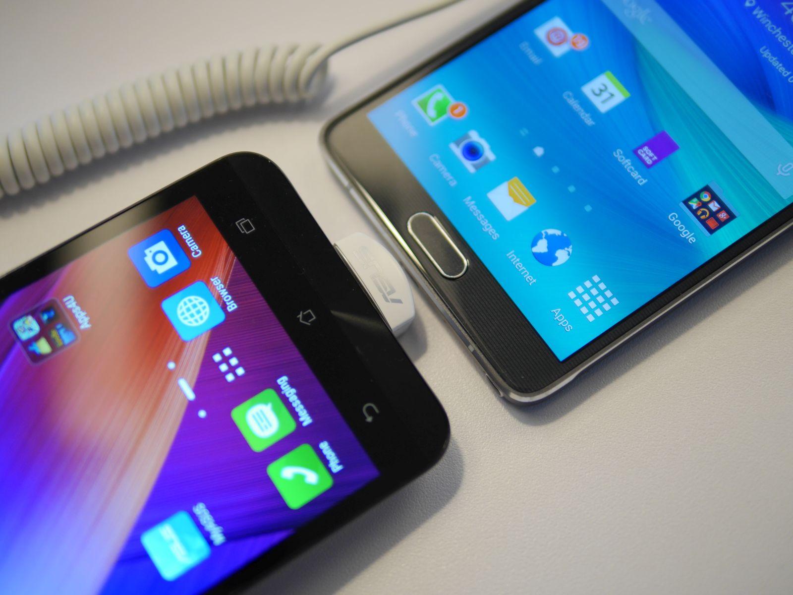Zenfone 2 vs Note 4 - 3