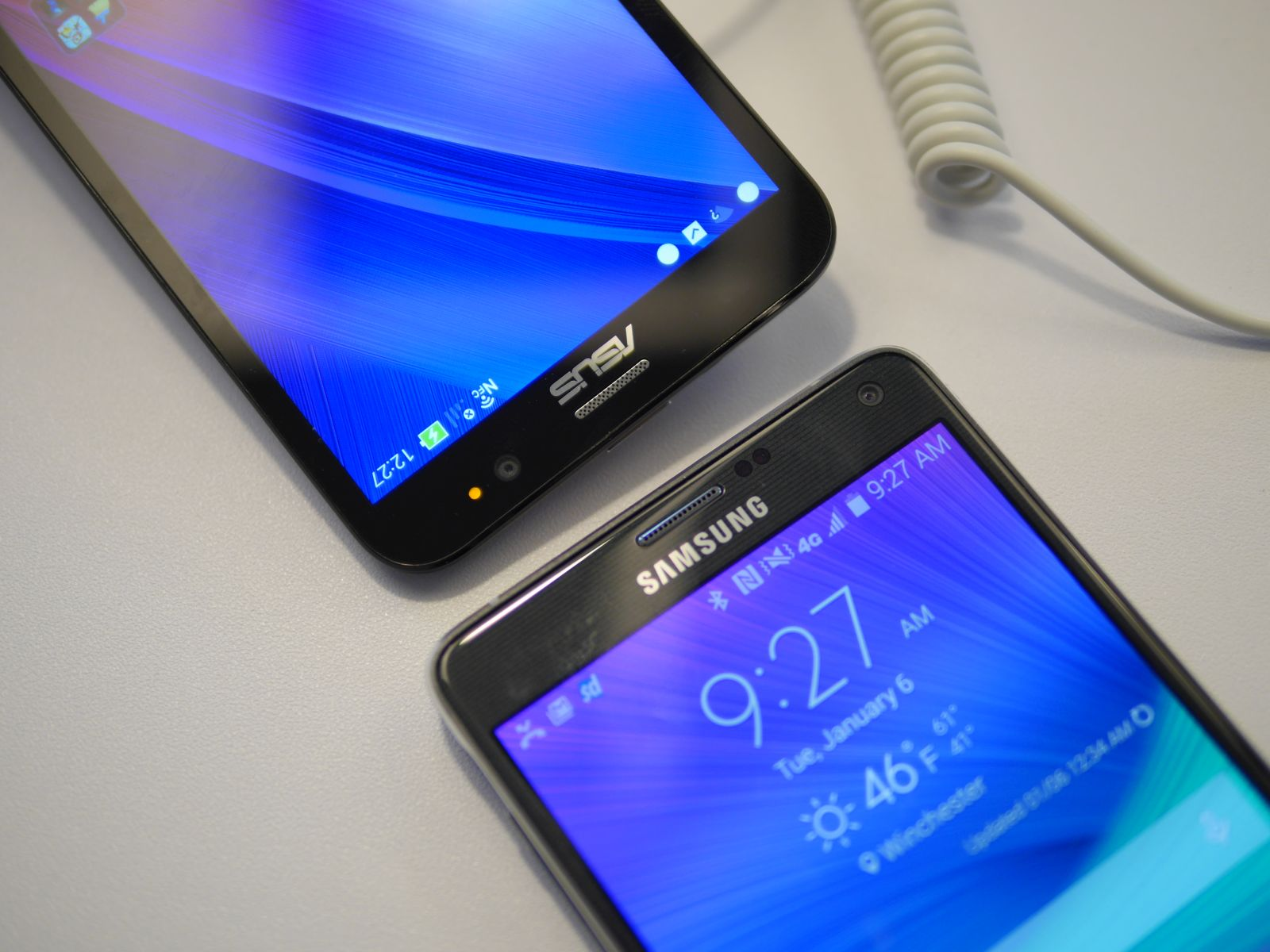 Zenfone 2 vs Note 4 - 5