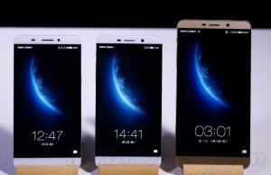 Peluncuran dari 3 ponsel raksasa LeTV : 4GB dan Snapdragon 810 !