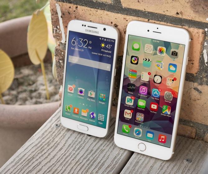 Ss S6 Vs Iphone 6 Plus