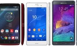 10 ponsel andalan dengan daya tahan baterai terbaik (June 2015)
