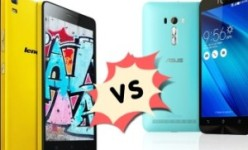 Lenovo K3 Note vs Asus Zenfone Selfie spesifikasi perbandingan