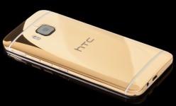 HTC One M9 Tampil Lebih Mewah dengan Lapisan Emas