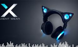 Headphone Berbentuk Telinga Kucing dari Axent Wear
