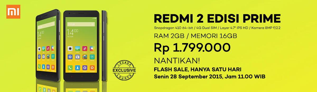 Redmi 2 Prime Dijual di Indonesia Seharga Rp 1,8 Juta
