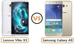 Samsung Galaxy A9 vs Lenovo Vibe X3: RAM 3 GB & Baterai 3600 mAh Seharga …..