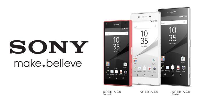Sony Xperia Z5 family