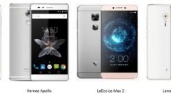 LeEco Le Max 2 vs ZUK Z2 Pro vs Vernee Apollo vs Vivo Xplay 5 Elite: Perang smartphone RAM 6GB