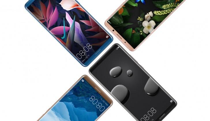 Huawei Mate 10 Pro vs Samsung Galaxy Note 8